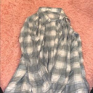 Maurices wide plaid